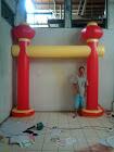BALON GATE PVC UNTUK ACARA IMLEK