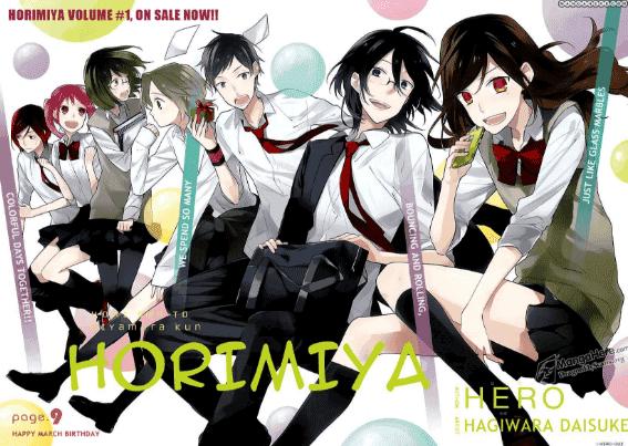 Horimiya - Daftar Manga Romance Terbaik Sepanjang Masa