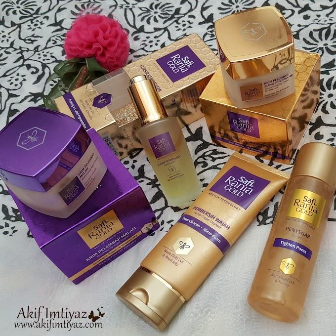Safi Rania Gold Penyelesaian Efektif Untuk Kulit Wajah Lebih Anjal Dan Halus