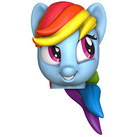 MLP Pencil Topper Figure Rainbow Dash Figure by Surprise Drinks