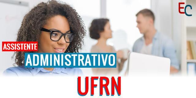 apostila assistente administrativo UFRN