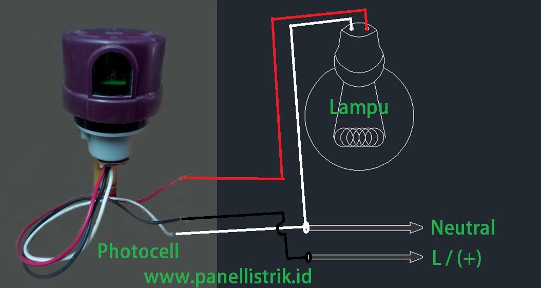 Instalasi Photocell Serta Cara Kerjanya Panel Listrik