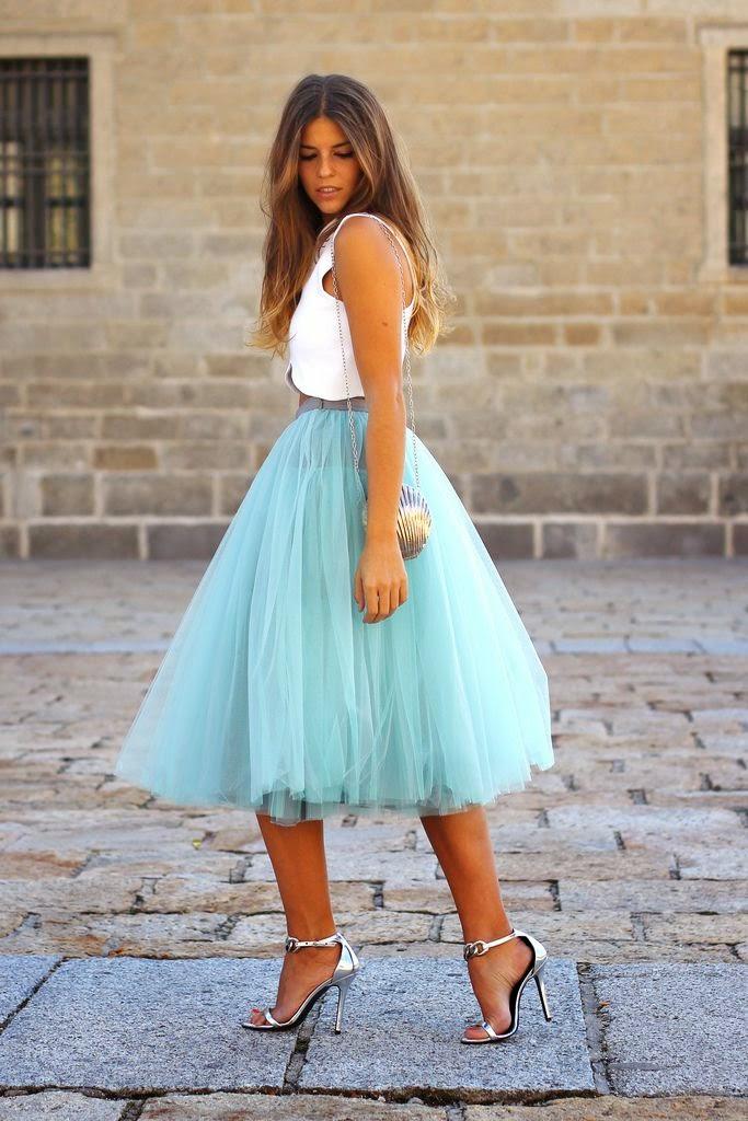 8b1b778cf Faldas de tul ideales para una invitada perfecta! - Quiero una boda ...