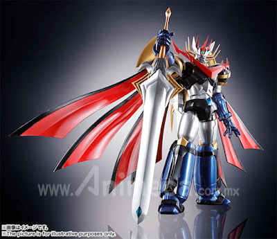 Figura Super Robot Chogokin Majin Emperor G Super Robot Wars V view