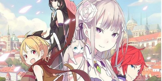 Actu Light Novel, Anime, Light Novel, Manga, Ofelbe, Re:Zero Re:Life,