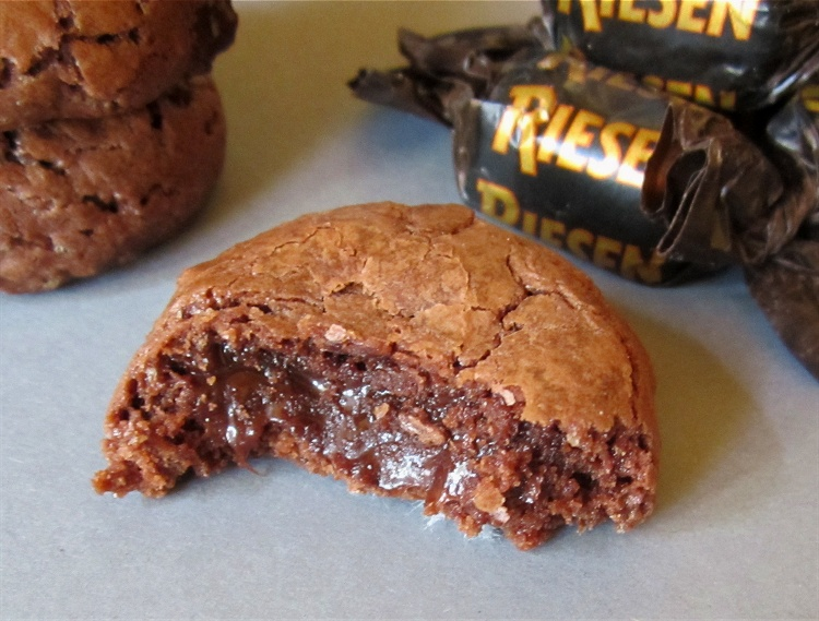 Cookies mit Karamellkern 2