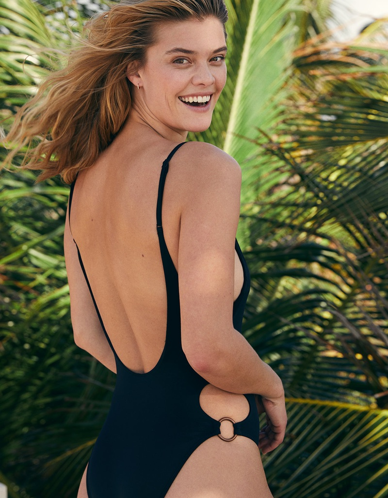 Nina Agdal for aerie Swimsuits 2018 Catalog