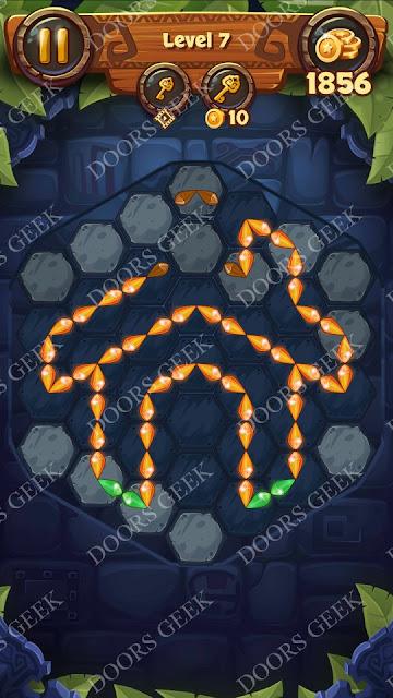 Gems & Magic [Titanium] Level 7 Solution, Walkthrough, Cheats