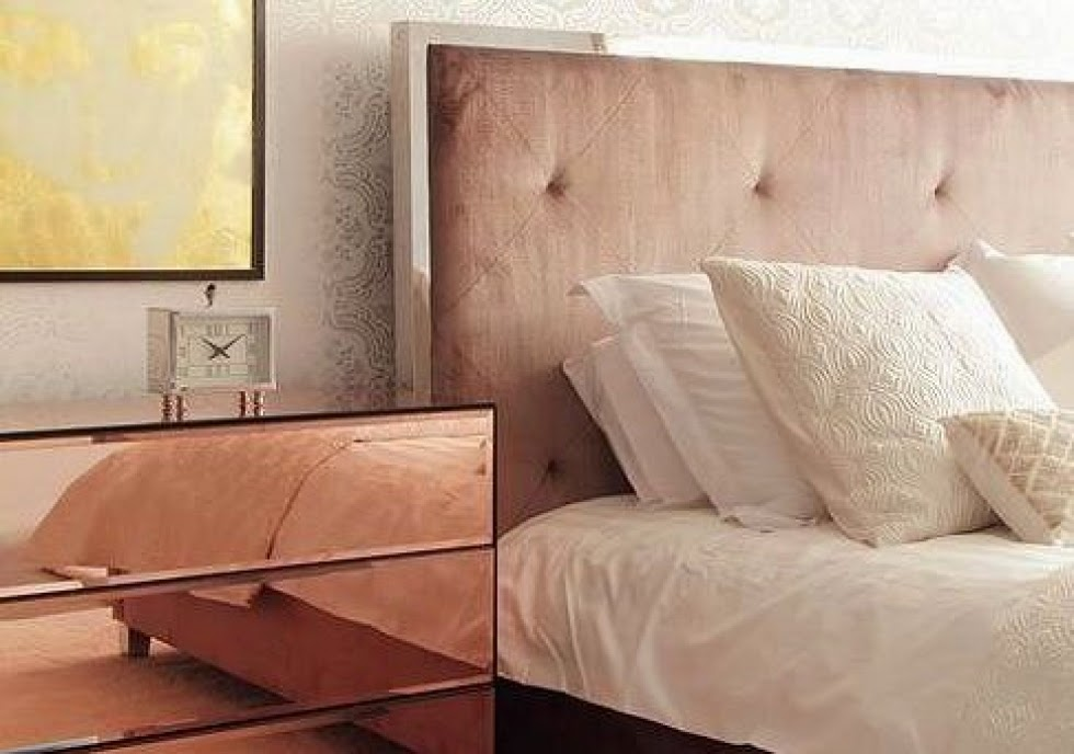 Eye For Design: Decorating With Rose Gold