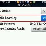 Cara Setting Ponsel Untuk Roaming Internasional