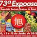 73ª EXPOASA COMEÇA DIA 10/06, NA CIDADE DE ASSAÍ