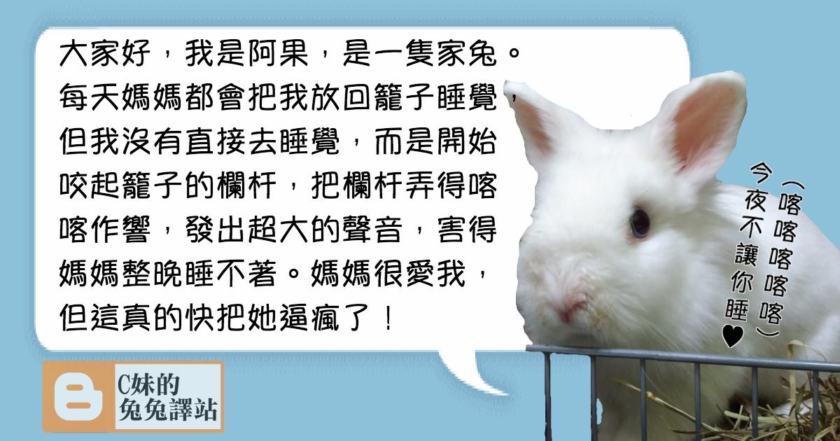 兔兔管教守則5:兔兔喜歡咬籠子的欄桿怎麼辦?