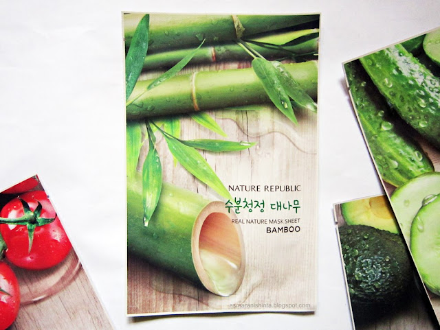 nature republic real nature mask sheet bamboo