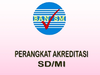 Download Instrumen Perangkat Akreditasi Sekolah SD/MI 2017-2018