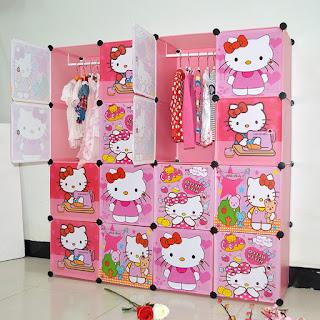 Gambar Lemari Hello Kitty 7