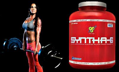 Suplemento proteico Syntha 6 masa muscular