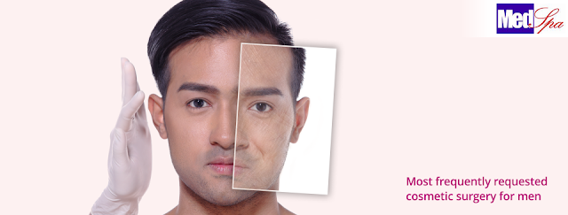 Check Out The Cosmetic Surgery for Men Usually Undergo