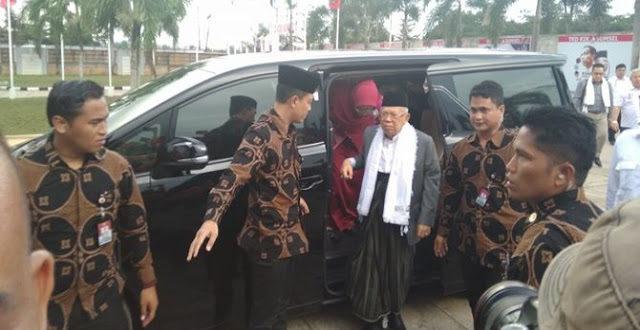 """Ma'ruf Amin Tegaskan Yang Masih Percaya Hoaks """"Jokowi Rezim Anti Islam"""" Berarti Oon 'Buyan'/Bodoh, Jokowi Peduli Islam Buktinya Saya dijadikan Wakilnya"""