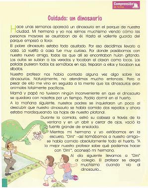 Lecturas Para Niños De Primero De Primaria Para Imprimir