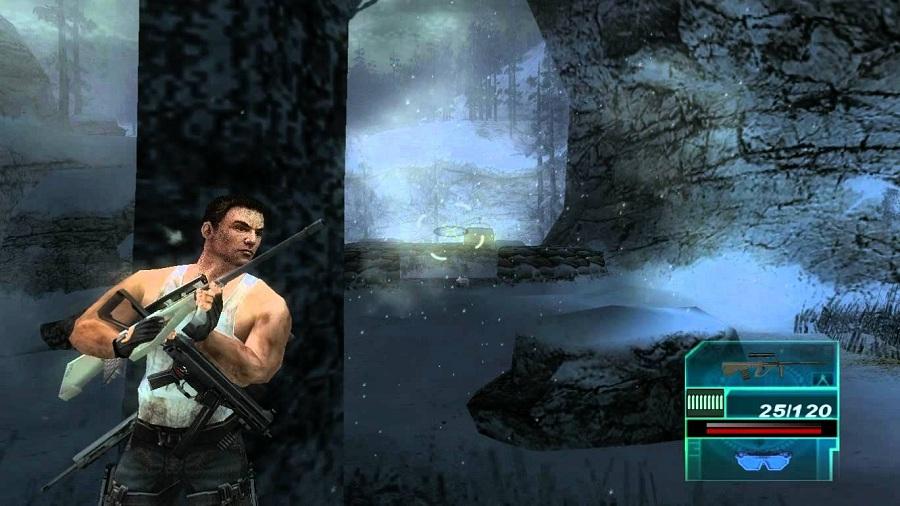 Daftar Kumpulan Game 3D FPS Tembak Tembakan Di PSP PPSSPP (Gameplay) : Syphon Filter: Logan's Shadow