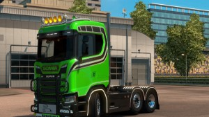 Old Skool Skin for Scania 2016