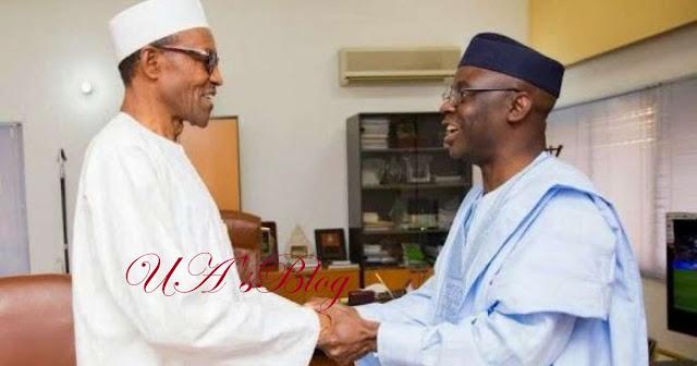 NYSC: Buhari meeting Adeosun, Bakare behind closed doors