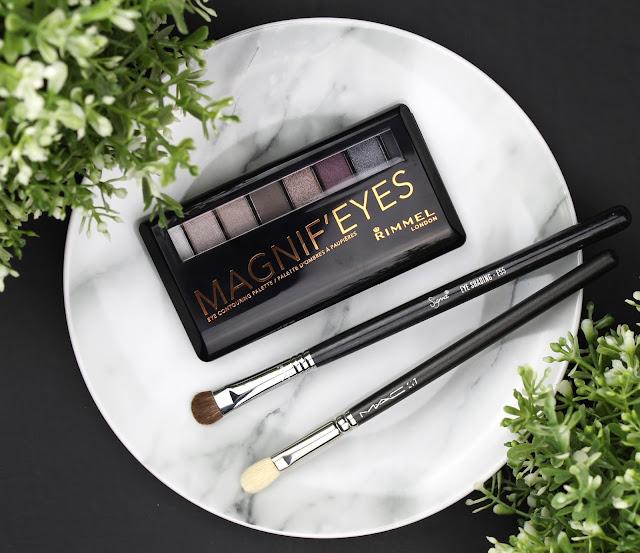 Rimmel Magnif'Eyes Magnifeyes Eye Contouring Palette Eyeshadow Grunge Glamour 003 review