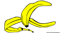 animated banana clipart