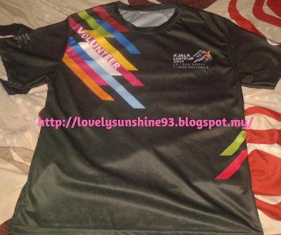 Baju Sukarelawan Bahagian Depan