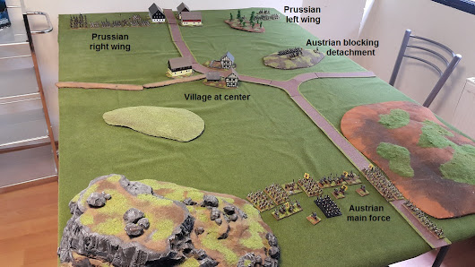 Prussians vs Austrians - Black Powder Game