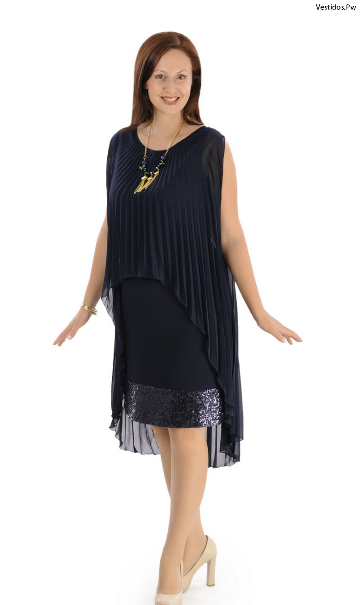 Modelos de vestidos para mujeres maduras