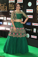 Nandita Swetha in a tight Green Choli Ghagra at IIFA Utsavam Awards March 2017 ~ 085.JPG