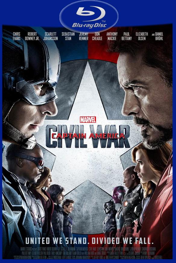 Capitão América: Guerra Civil (2016) BluRay Rip 720P/1080P Torrent Dublado 5.1