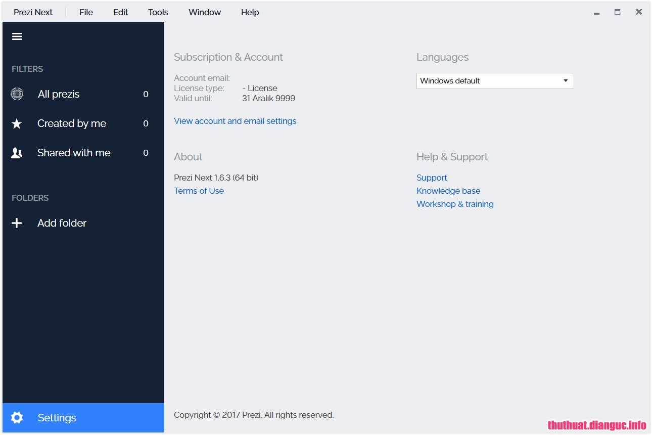 Download Prezi Next 1.6.3 Full Cr@ck – Phần mềm tạo thuyết trình đẹp