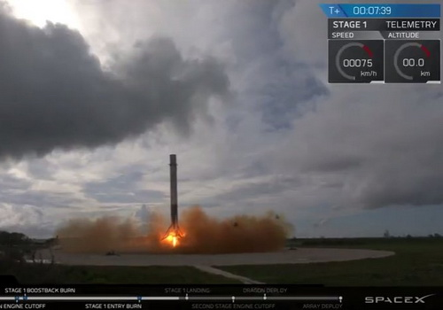 Tinuku SpaceX has flown recycled cargo ship as first history
