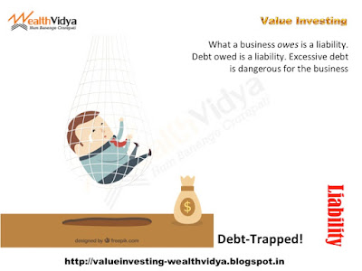 A Businessman Trapped in Excess Liabilities and Debt