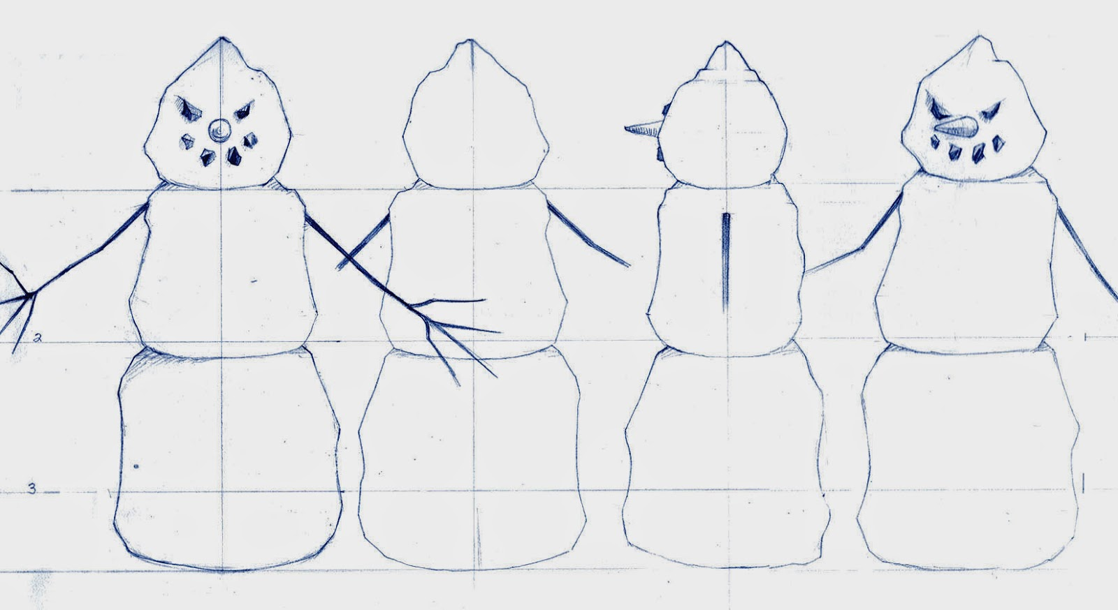Snowman Amuck