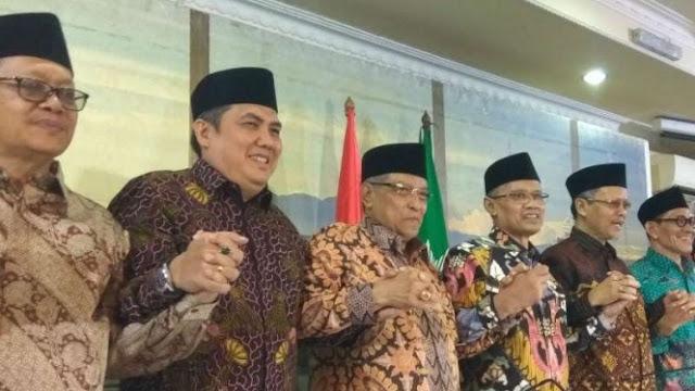 NU-Muhammadiyah Minta Warga Kedepankan Kebersaaman di Tahun Politik