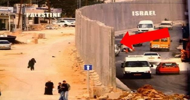 TERBONGKAR! Inilah Tembok Pemisah Israel Antara Palestin Yang Ramai Tak Pernah Tengok !!!