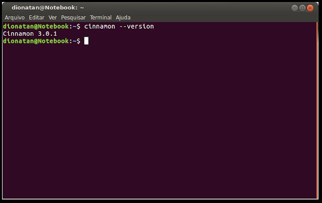 Cinnamon 3.0 no Ubuntu