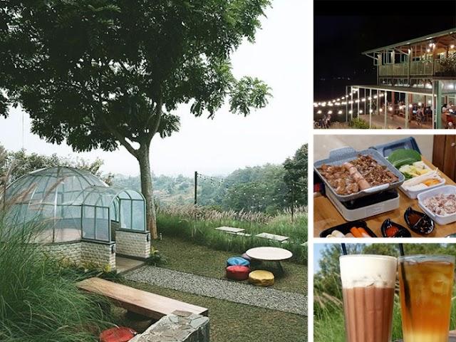 Utara Cafe, Tempat  Kuliner Sejuk dan Instagramable di Dago Pakar