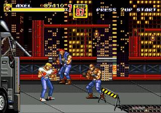 Captura del videojuego Streets of Rage (1)