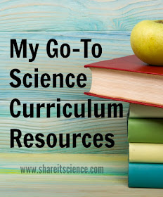 best science curriculum resource books