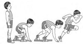 Teknik start jongkok