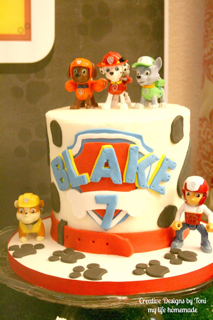 My Life Homemade Blake To The Rescue Paw Patrol Inspired 7th