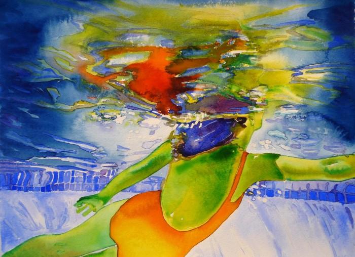 Carol Carter. Яркие акварели 11
