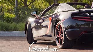McLaren 12C Rear Angle