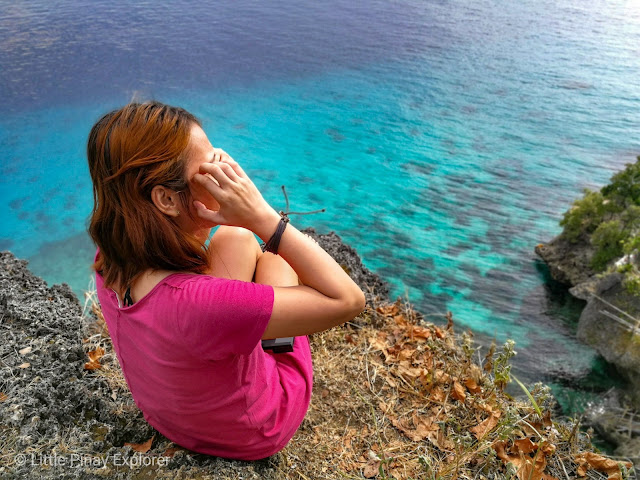 Limasawa, scenic view, blue ocean, aqua ocean, hill, limasawa travel blog