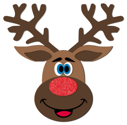 Die Cut Girl: Free Reindeer SVG Cut File