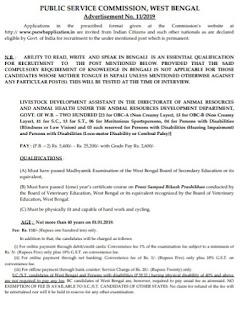 PSC Recruitment- 200 Vacancy For Livestock Development Assistant